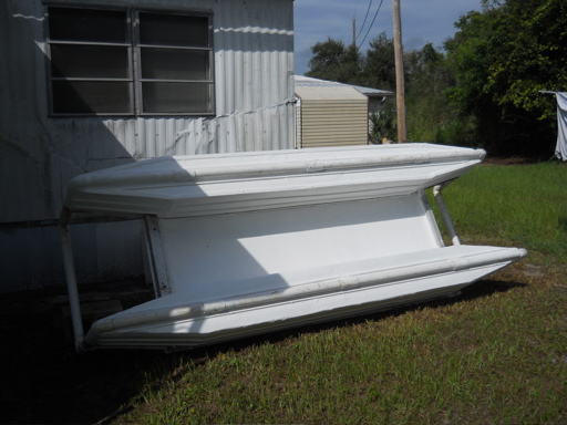 Homebuilt Pontoon Boat Double Hull Kayak
